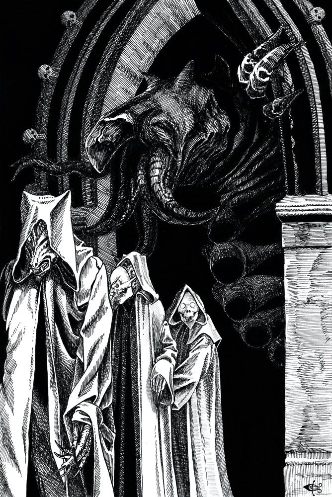 The Charnel God  - Clark Ashton Smith by SergiyKrykun
