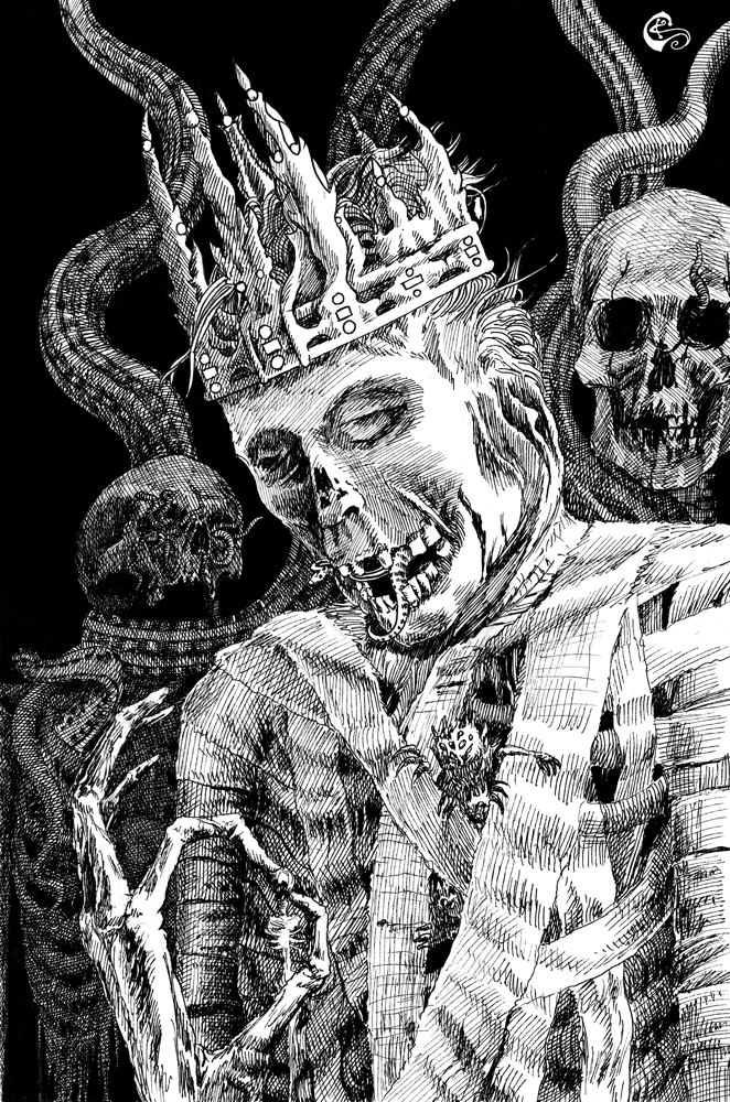 The Dark Eidolon by SergiyKrykun