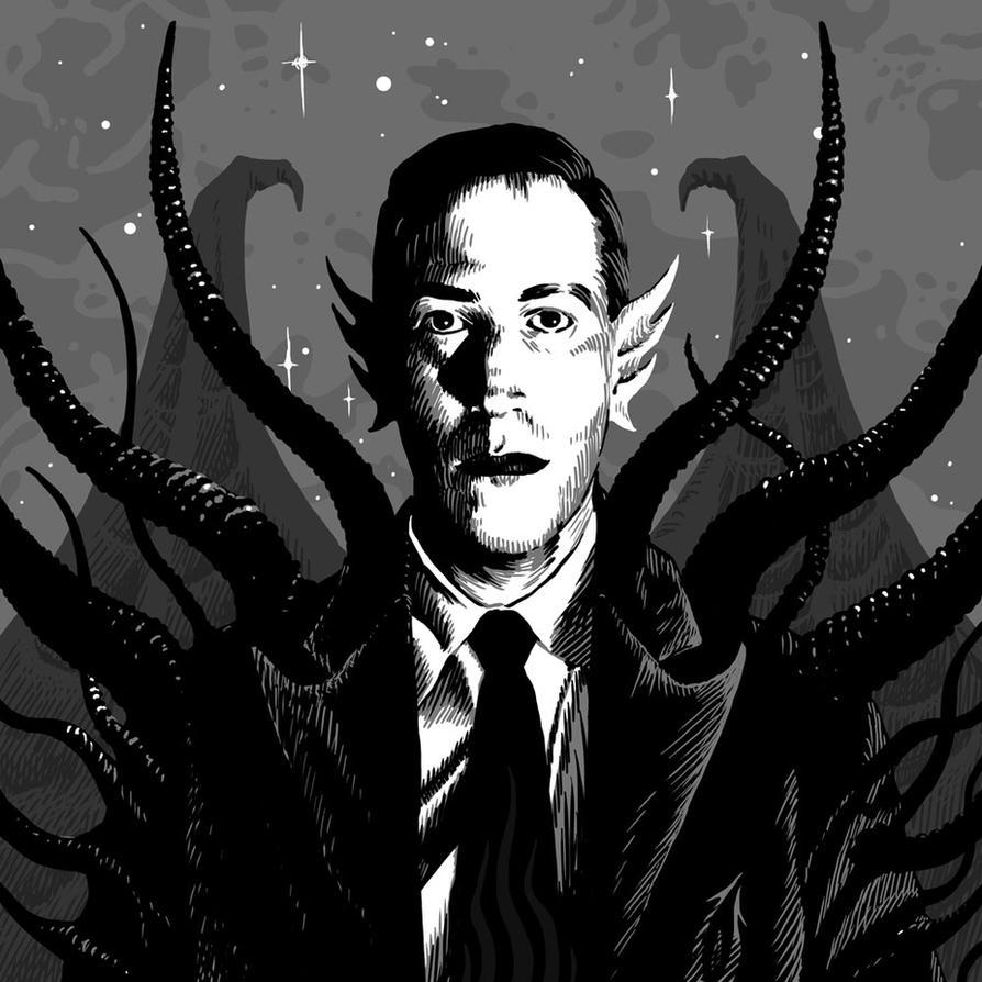 H. P. Lovecraft by SergiyKrykun