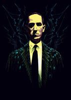 Howard Phillips Lovecraft by SergiyKrykun