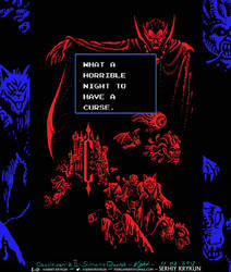 Castlevania II Simon's Quest: Horrible Night by SergiyKrykun
