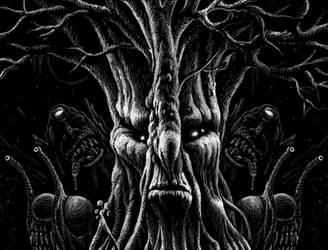 Monster Tree, Cyclops' and Killer Slugs by SergiyKrykun