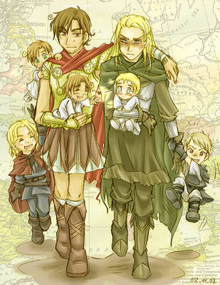 APH - Dysfunctional Family by sora-ko