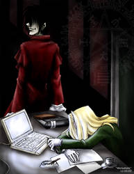 Hellsing - Sir Workaholic by sora-ko
