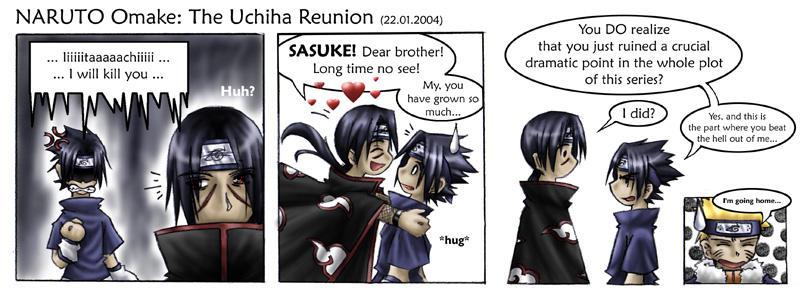Naruto - The Uchiha Reunion by sora-ko