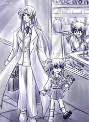 Inuyasha - Unexpected Meeting by sora-ko