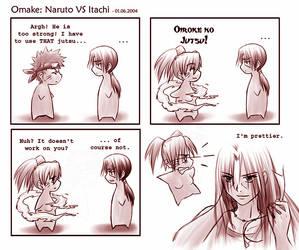 Naruto - Fox VS Weasel by sora-ko