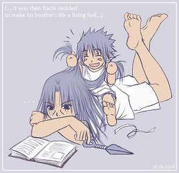 Naruto - Early plotting by sora-ko