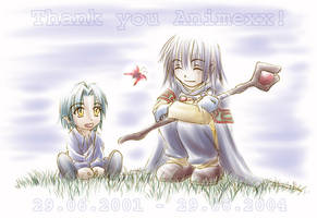Slayers - Thank you Animexx by sora-ko