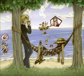 One Piece - Mugiwara Chill Out