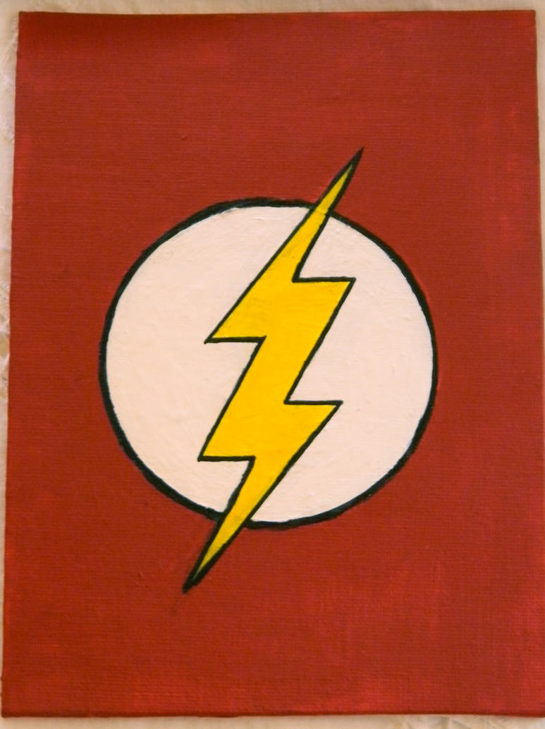 Flash Logo Oil Painting