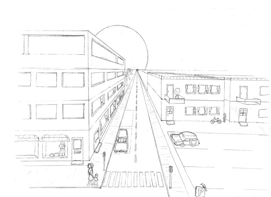 Street View Perspective Drawing | www.pixshark.com ...