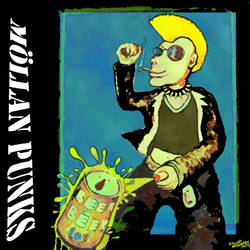 Mollan Punks cd by MushroomBrain