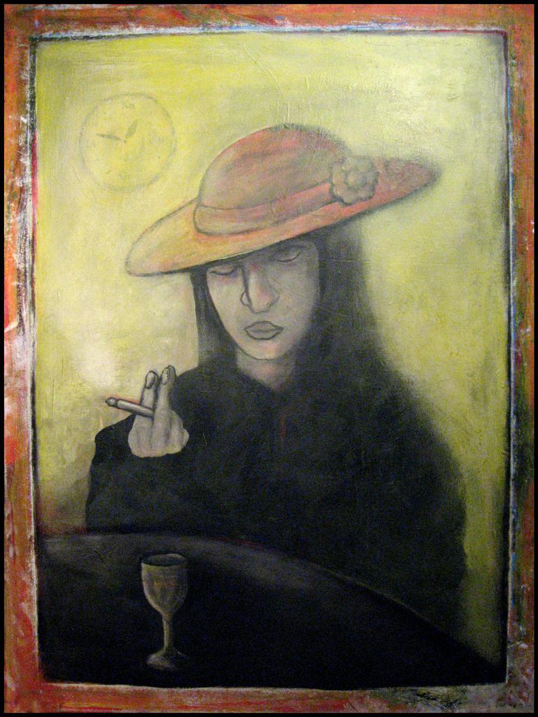 Night Gloom in solitude and Smoke by MushroomBrain
