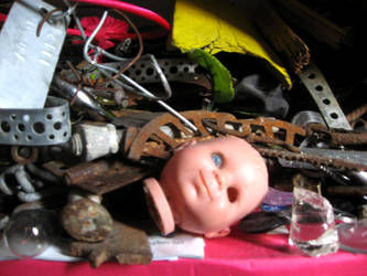 Horrid doll and Rust by MushroomBrain
