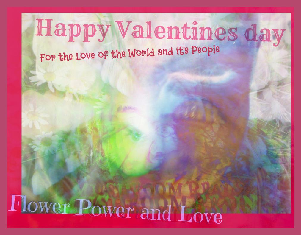 Exploding Joy Wild Blossom Love Valentine by MushroomBrain