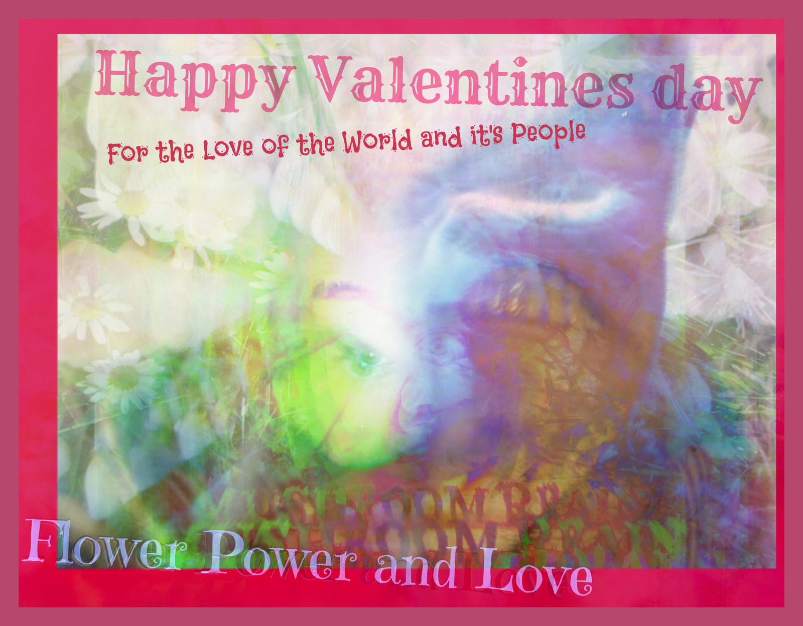 Exploding Joy Wild Blossom Love Valentine by MushroomBrain