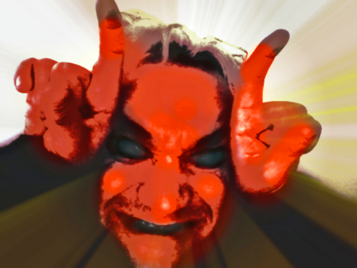 I am Not Satan you can call me MushroomBrain by MushroomBrain