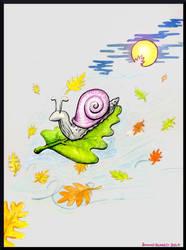 Riding the Wild Wind of Autumn