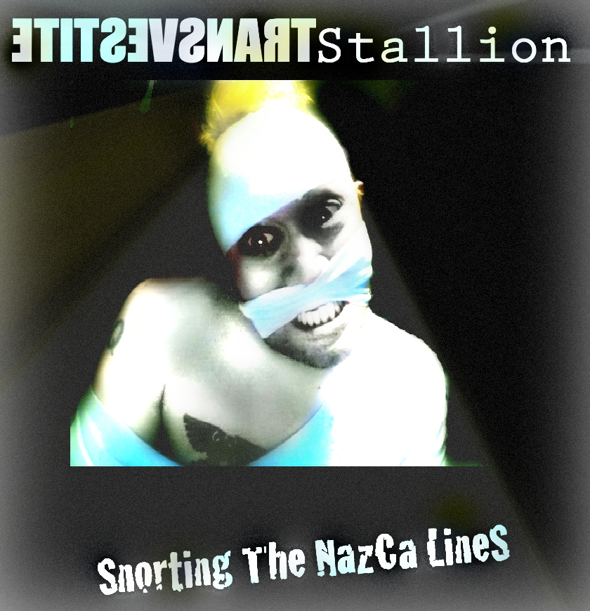 Snorting The Nazca Lines Promo Design for Ts by MushroomBrain