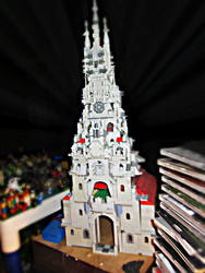 Mega Gothic LEGO Cathedral Project by MushroomBrain