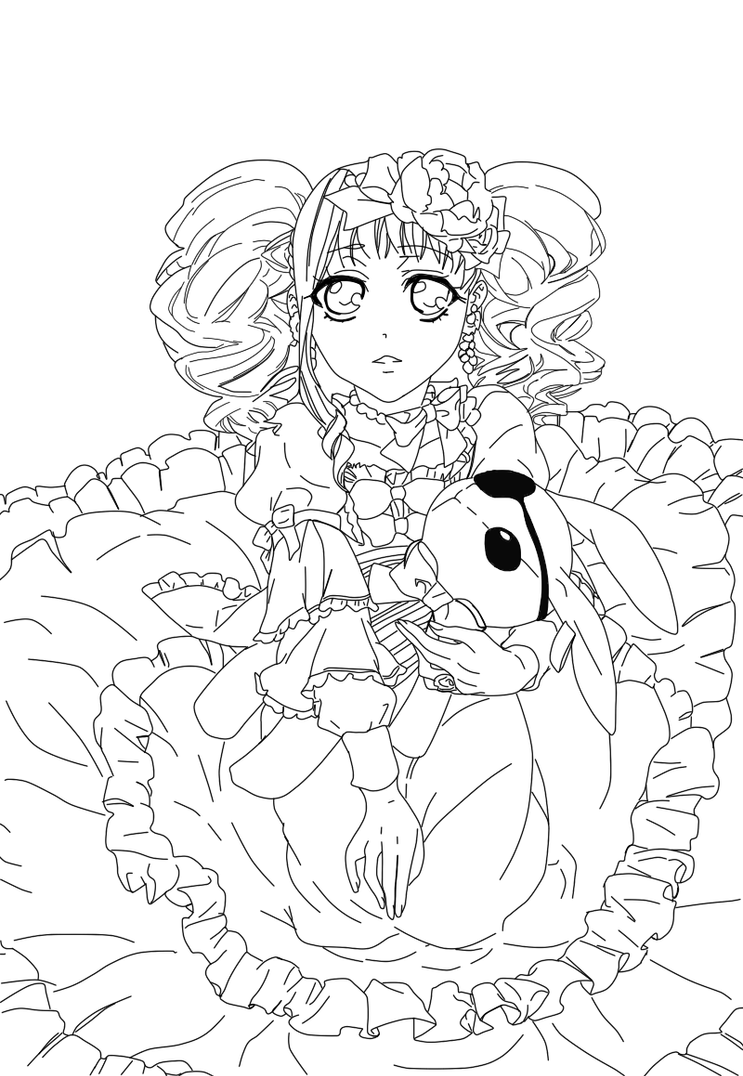 lizzy from black butler by copycat216 - Black Butler Chibi Coloring Pages