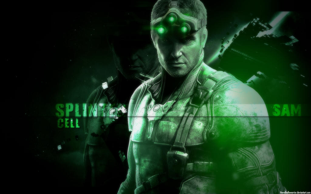 Wallpaper Sam Fisher By Skadidesigns On Deviantart