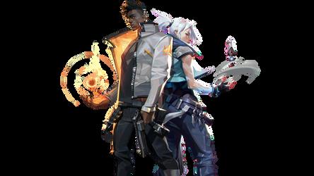 Phoenix and Jett Render