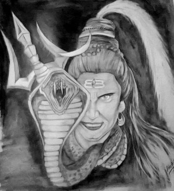 Lord shiva by abhijit21