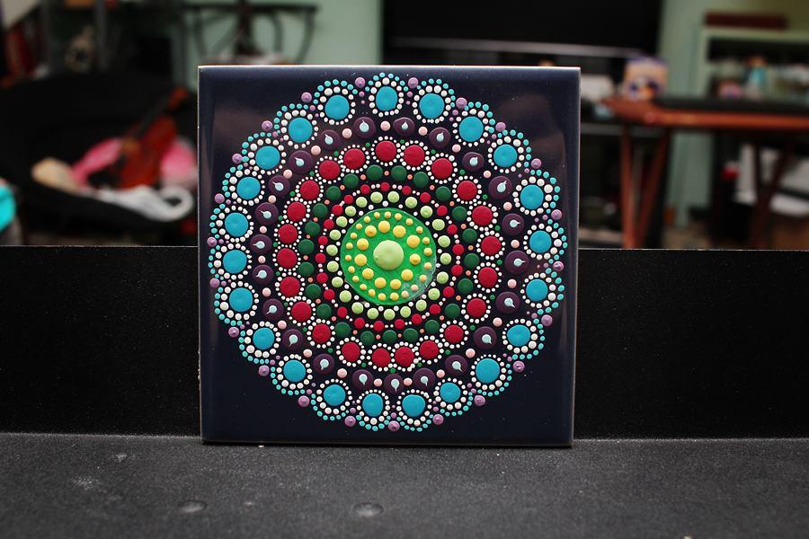 Mandala Tile by wufeisgirl