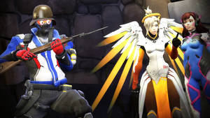 Too much Battlefield for Soldier 76
