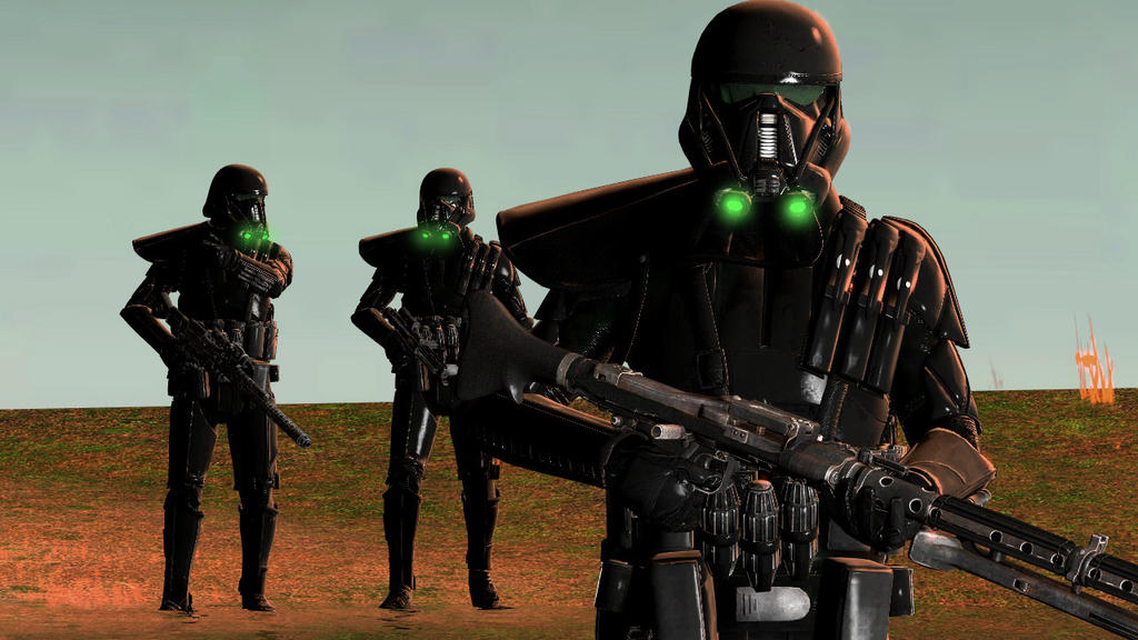 Imperial Deathtroopers by TheImperialCombine
