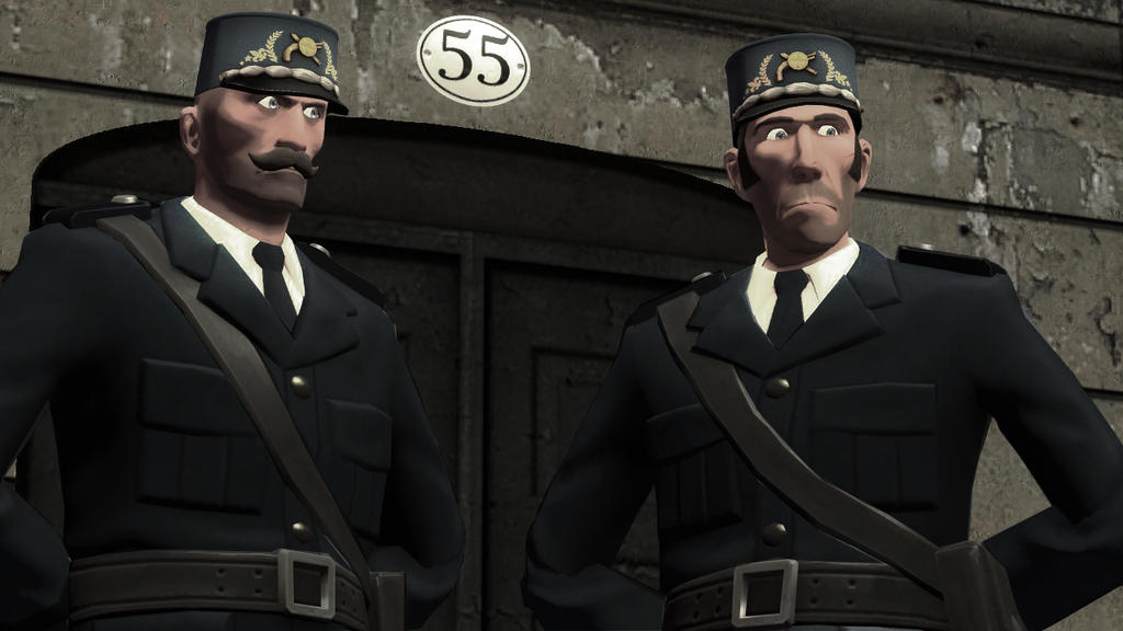 French Officers in the Interwar period by TheImperialCombine
