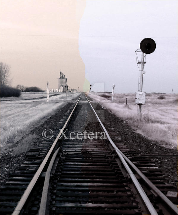 A Crack In The Line by Xcetera