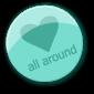 LOVEallAround Badge by ANDASKAstamps