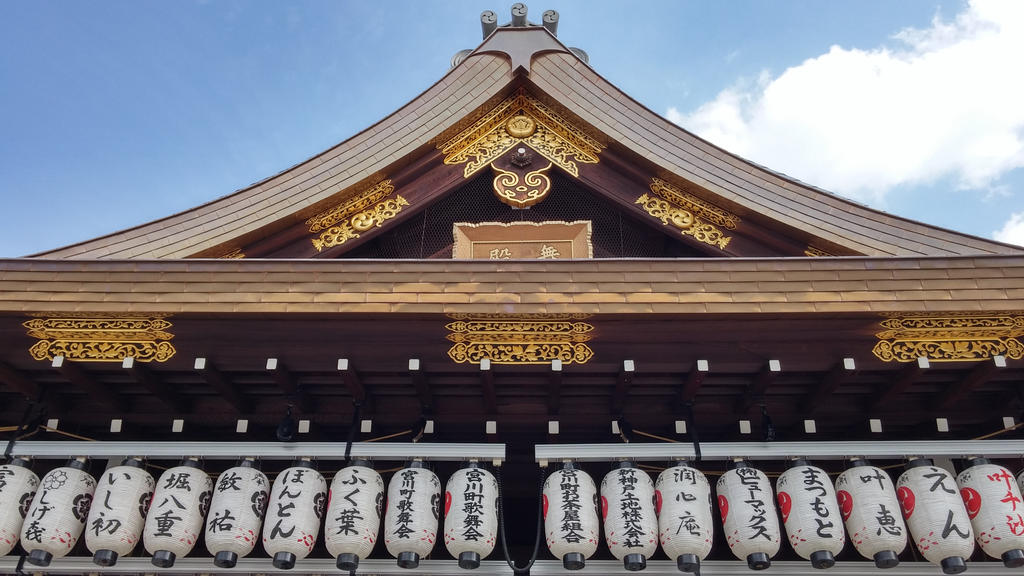 Shinto shrine Kyoto by moranc12