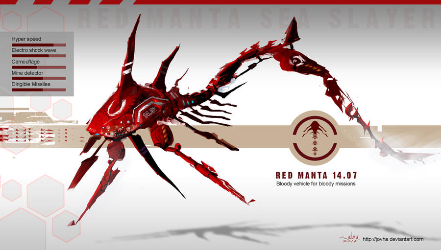 Red Manta 14.07 by Jovha