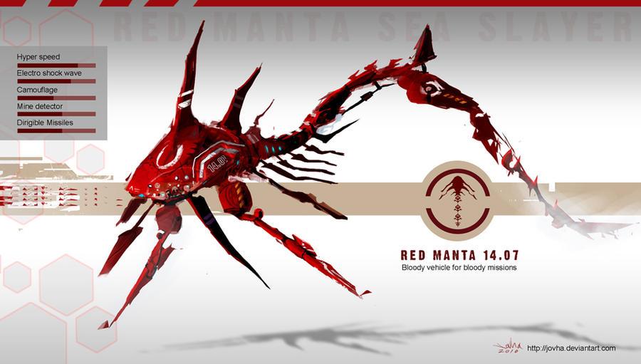 Red Manta 14.07 by Jovha