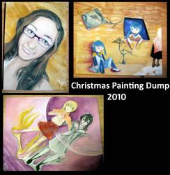 Painting: Holidays Dump by Mushroom-soul