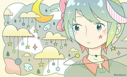 Star and Girl by dwikipan