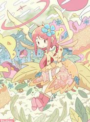 Herbal Girl by dwikipan