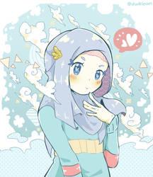 Hijab Breeze by dwikipan