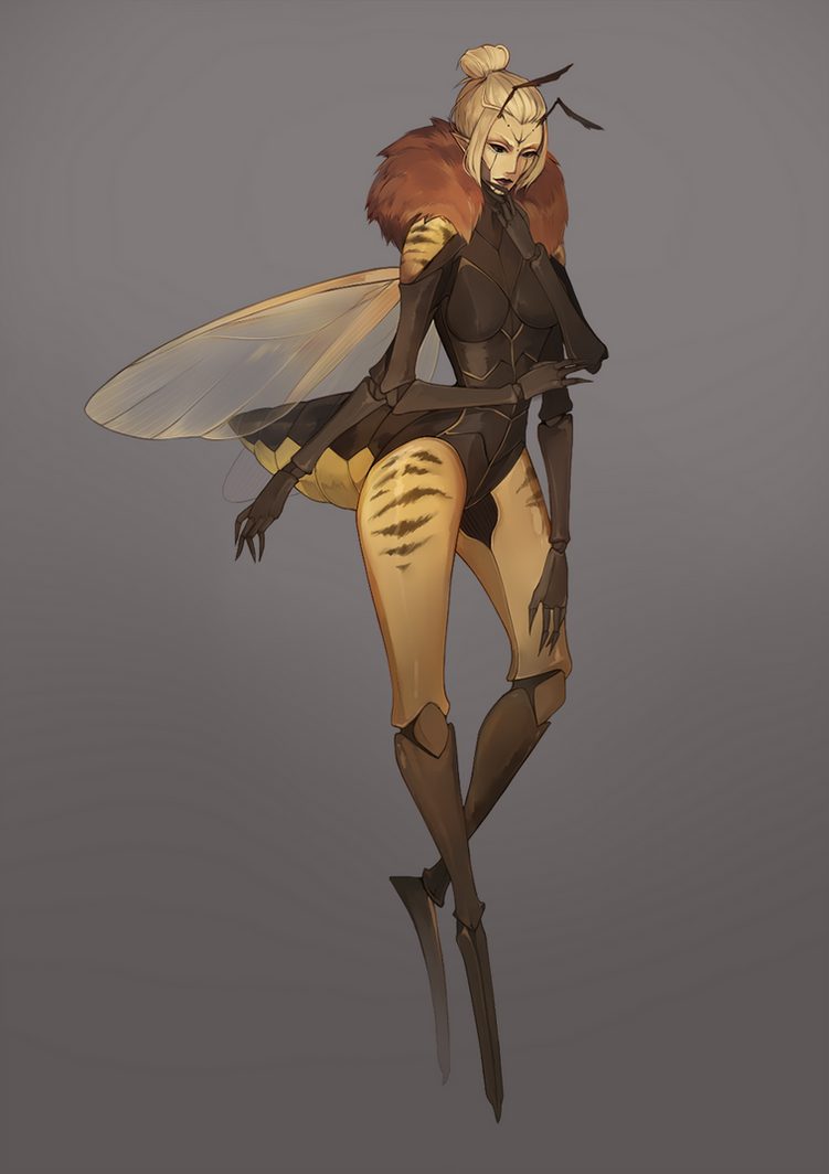 Queen Bee : Blaire by BlackBunii