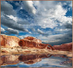Corona Arch Grandview Reflection