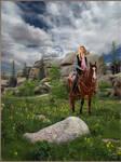 Vedauwoo Cowgirl