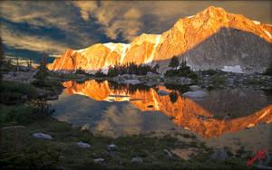 Snowy Range Reflection 3 by MichaelAtman