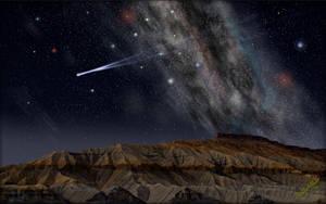 Alien Butte 2 by MichaelAtman