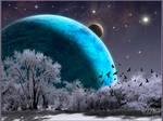 Winter Planet by MichaelAtman