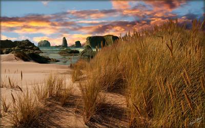 Dune beach sunset b