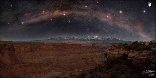 Canyonlands Milky Way Pano